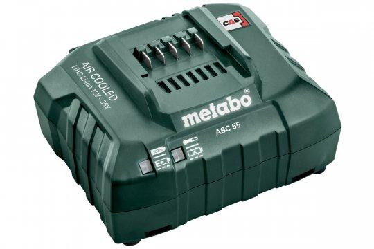 Зарядное устройство для аккумуляторов METABO ASC 55 для Li-ion 14.4-36 V (316067880)